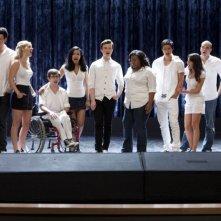 I New Directions nell'episodio 'Grilled Cheesus' della seconda stagione di Glee