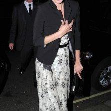 Kate Moss esce dall'Harry's Bar