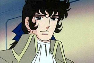Andrè in una sequenza dell\'anime Lady Oscar (1979)