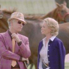 John Malkovich con Diane Lane nel film Secretariat