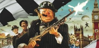 Un'immagine promozionale del film Jackboots on Whitehall