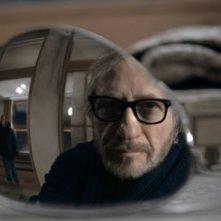 Reiner Schöne in una bellissima inquadratura del film Snowman's Land