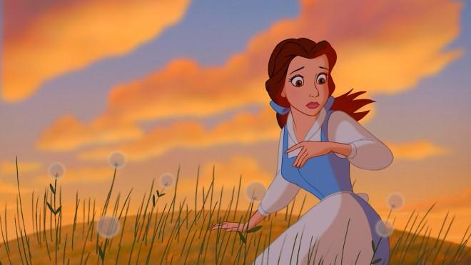 Belle In Una Sequenza Del Film D Animazione La Bella E La Bestia Del 1991 178351