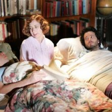 Jemaine Clement e Bret McKenzie con Kristen Schaal in una scena di Flight of the Concords