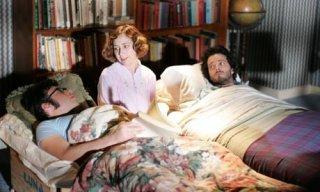 Jemaine Clement e Bret McKenzie con Kristen Schaal in una scena di Flight of the Concords