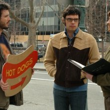 Jemaine Clement, Bret McKenzie e Rhys Darby sono i protagonisti di Flight of the Concords