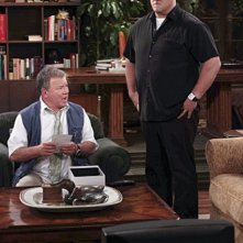 Will Sasso e William Shatner nell'episodio Code Ed di $#*! My Dad Says