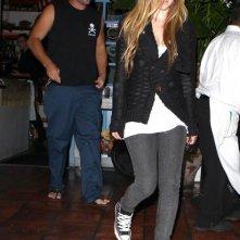 Avril Lavigne e Brody Jenner a cena alla Taverna Tony a Malibu, in California