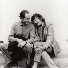 Inge Film: un'immagine di Inge Feltrinelli accanto ad Erri De Luca