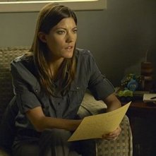 Jennifer Carpenter in una scena dell'episodio Practically Perfect della quinta stagione di Dexter.