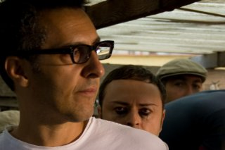 John Turturro e Gennaro Cosmo Parlato sul set del film Passione