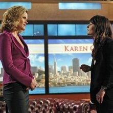 Missi Pyle e Robin Tunney nell'episodio Red Carpet Treatment di The Mentalist