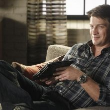 Nathan Fillion nell'episodio Anatomy of a Murder di Castle