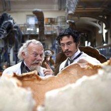 Philippe Nahon e Nicolas Giraud in un'immagine del film Adele e l'enigma del faraone