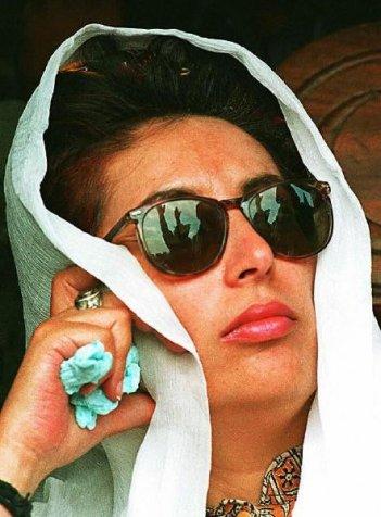Una immagine del documentario Bhutto