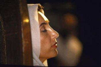 Una scena del documentario Bhutto
