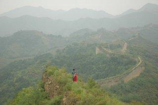 Una suggestiva scena del film The Back (Bei Mian, 2010)