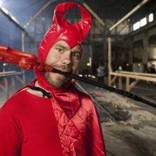 Chris Pontius in una scena di Jackass 3-D