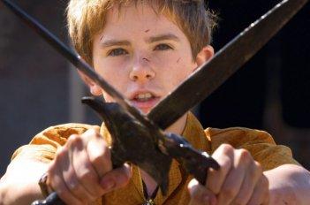 Freddie Highmore, protagonista di Arthur et la guerre des deux mondes