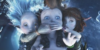I piccoli protagonisti animati del film Arthur et la guerre des deux mondes