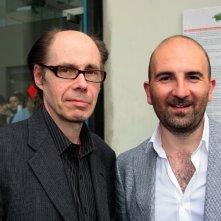 Jeffery Deaver e Donato Carrisi, foto di Paolo Tangari per Salone Internazionale del Libro