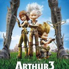 La locandina di Arthur et la guerre des deux mondes