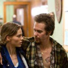 Sam Rockwell e Hilary Swank, protagonisti del drammatico Conviction