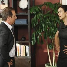 Brian Benben e Kate Walsh in Private Practice nell'episodio All in the Family
