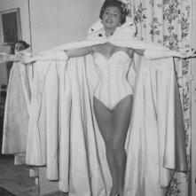 Carla Del Poggio negli anni '50, durante l'esperienza con la compagnia teatrale di Eduardo