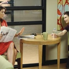 Kate Walsh and Caterina Scorsone in Private Practice nell'episodio All in the Family
