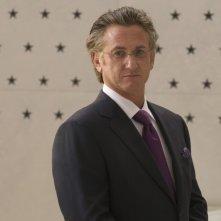 Primo piano di Sean Penn dal thriller Fair Game di Doug Liman.