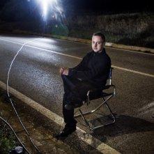 Claudio Cupellini sul set di Una vita tranquilla