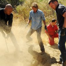 LL Cool J, Chris O'Donnell e Eric Christian Olsen in Little Angels di NCIS: Los Angeles