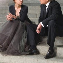 Carey Mulligan e Michael Douglas nei ruoli di figlia e padre nel film Wall Street 2: Money Never Sleeps