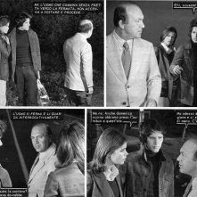 Nello Appodia con Claudia Rivelli e Franco Dani nei fotoromanzi Lancio IDILLIO n. 128.1973