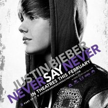 La locandina di Justin Bieber: Never Say Never