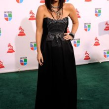 Una foto di Laura Pausini ai Latin Grammy Awards 2009