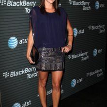 Danneel Harris in blu per un evento Blackberry Torch