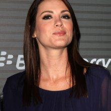 l\'attrice Danneel Harris ad un evento Blackberry