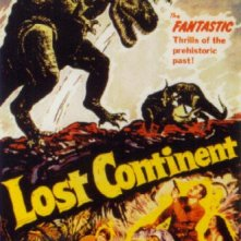 La locandina di Il continente scomparso