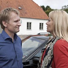 Ulrich Thomsen e Trine Dyrholm in una scena del film In a Better World (Hævnen)