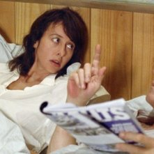 Valérie Bonneton e François Cluzet in una sequenza di Les petits mouchoirs