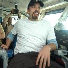 Ben Affleck si diverte sul set del film The Company Men