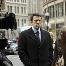 Ben Affleck sul set del film The Company Men