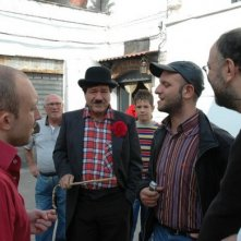 Nicola Pignataro (al centro) nel film Piripicchio, l'ultima mossa