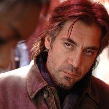 Un'immagine di Javier Bardem dal film Biutiful