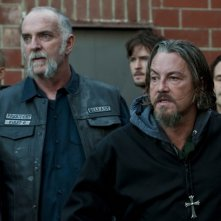 Andy McPhee e Tommy Flanagan in Sons of Anarchy nell'episodio Lochan Mor