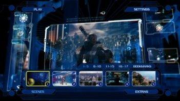 Un'immagine dal menu dal Blu-Ray di Iron Man 2