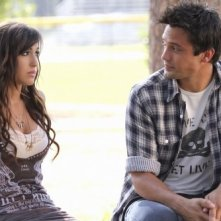 Kate Voegele e Stephen Colletti nell'episodio I Can't See You, But I Know You're There di One Tree Hill
