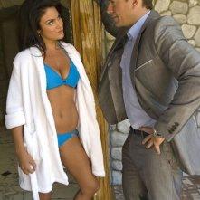 Nadia Bjorlin e Michael Weatherly nell'episodio Dead Air di NCIS - Unità anticrimine